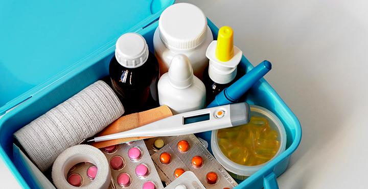 kit básico en medicamentos