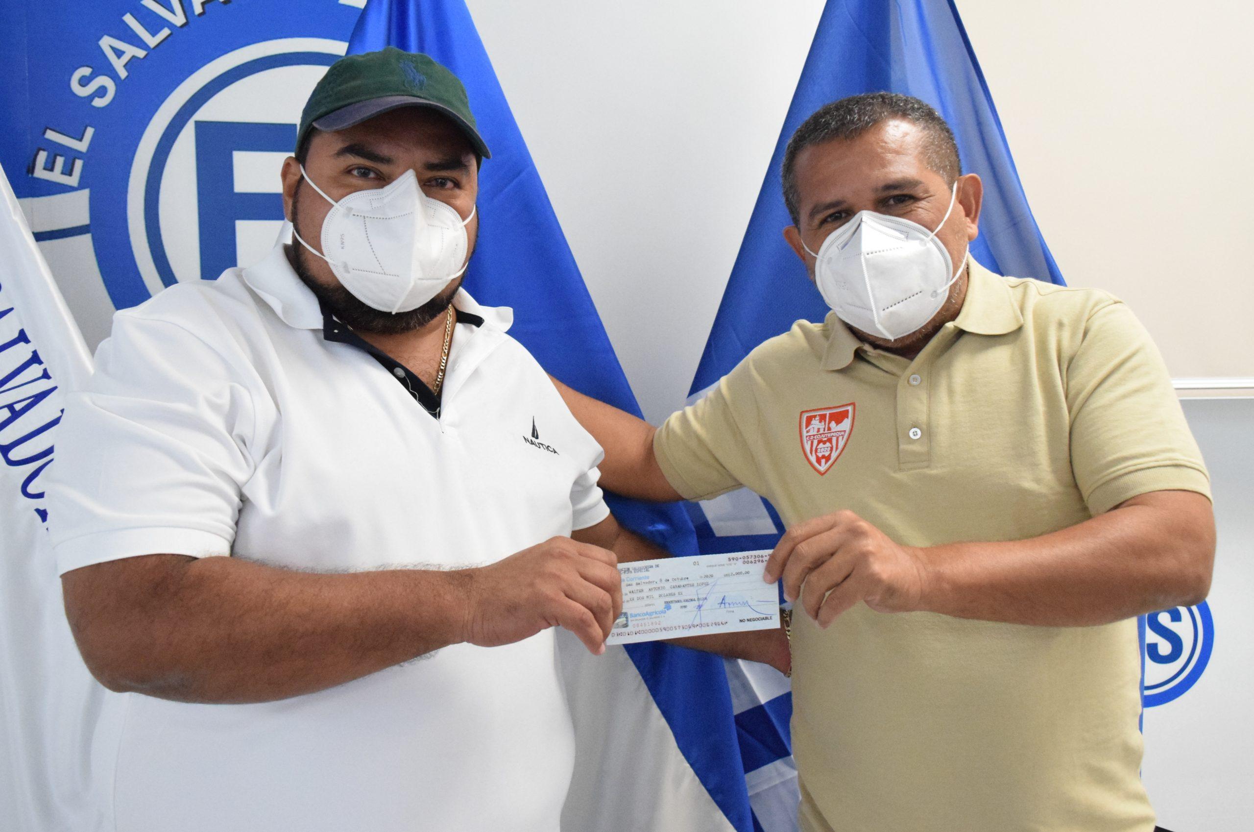 Presidente Walter López de Club Deportivo Talleres JR de Tejutla, Chalatenango
