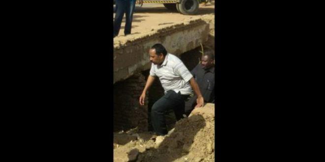 وزير الإعلام السوداني جبدوه من الواد الحار