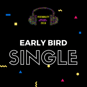Festability Early Bird Single Ticket