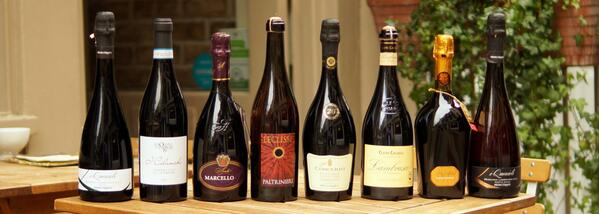 """@inparma: """"The very best 8 #Lambrusco all by the glass during #LambruscoDay"""""""