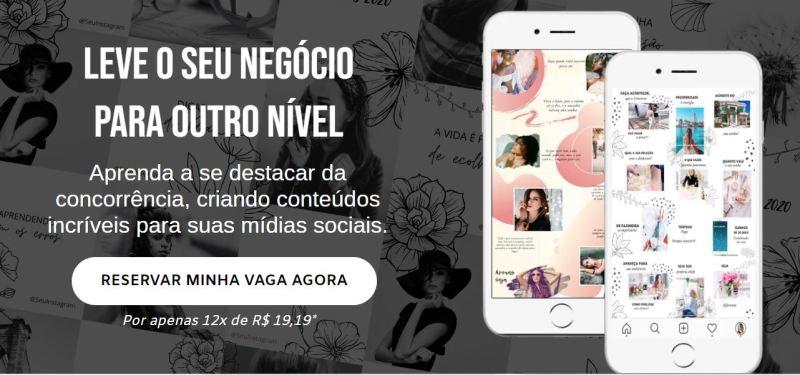 Tela do site oficial da Renata Massa