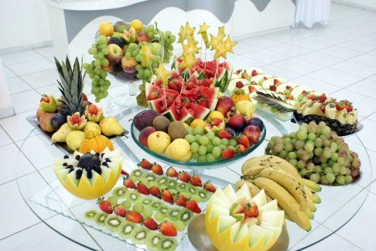 Decoração Para Mesa De Natal Com Frutas - Últimas Decoração