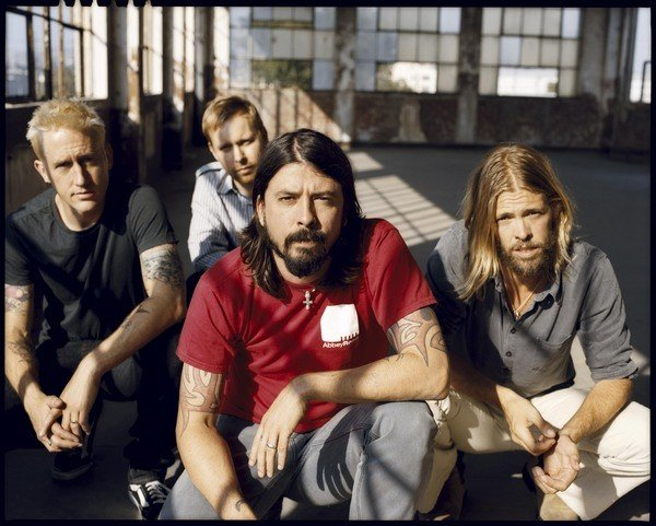 Foo Fighters Group Shoot 2008