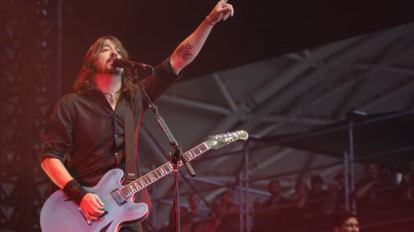 Foo Fighters Live Dave 2012