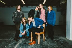 Cage The Elephant press shot