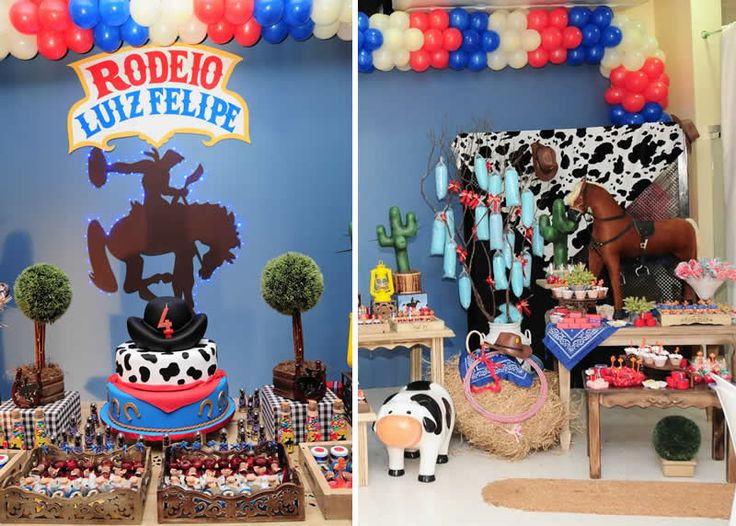 Fiesta temática de Vaqueros