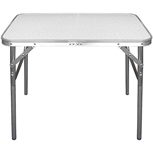 Aluminium Klapptisch Campingtisch 75cm Gartentisch Campingmöbel Falttisch Reisetisch