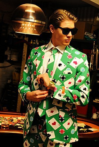 OppoSuits Poker Face Anzug