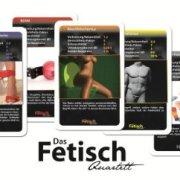 Fetisch Quartett Kartenspiel