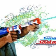 Festival Gadgets Super Soaker Bottle Blitz Wasserpistole Verwendung
