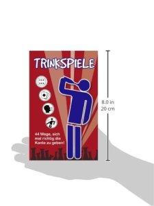 Buch Trinkspiele: 44 Wege, sich mal richtig die Kante zu geben!