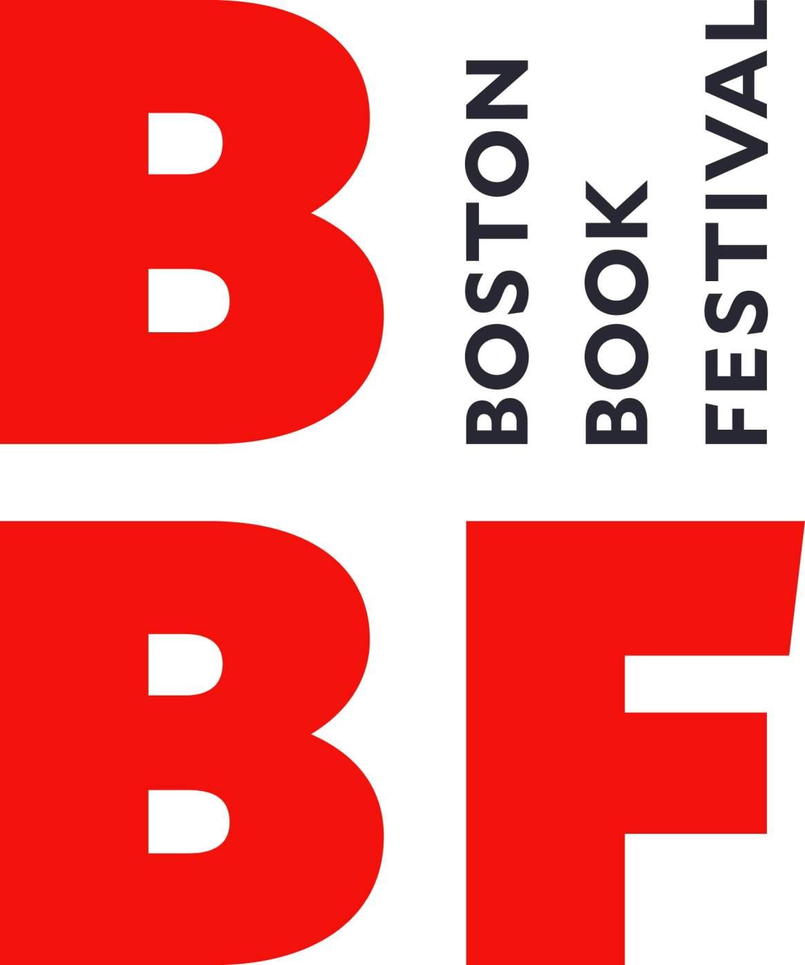 """Logo which reads """"BBF Boston Book Festival"""""""