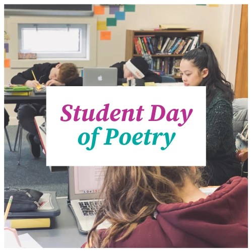 Student Day of Poetry clickable banner