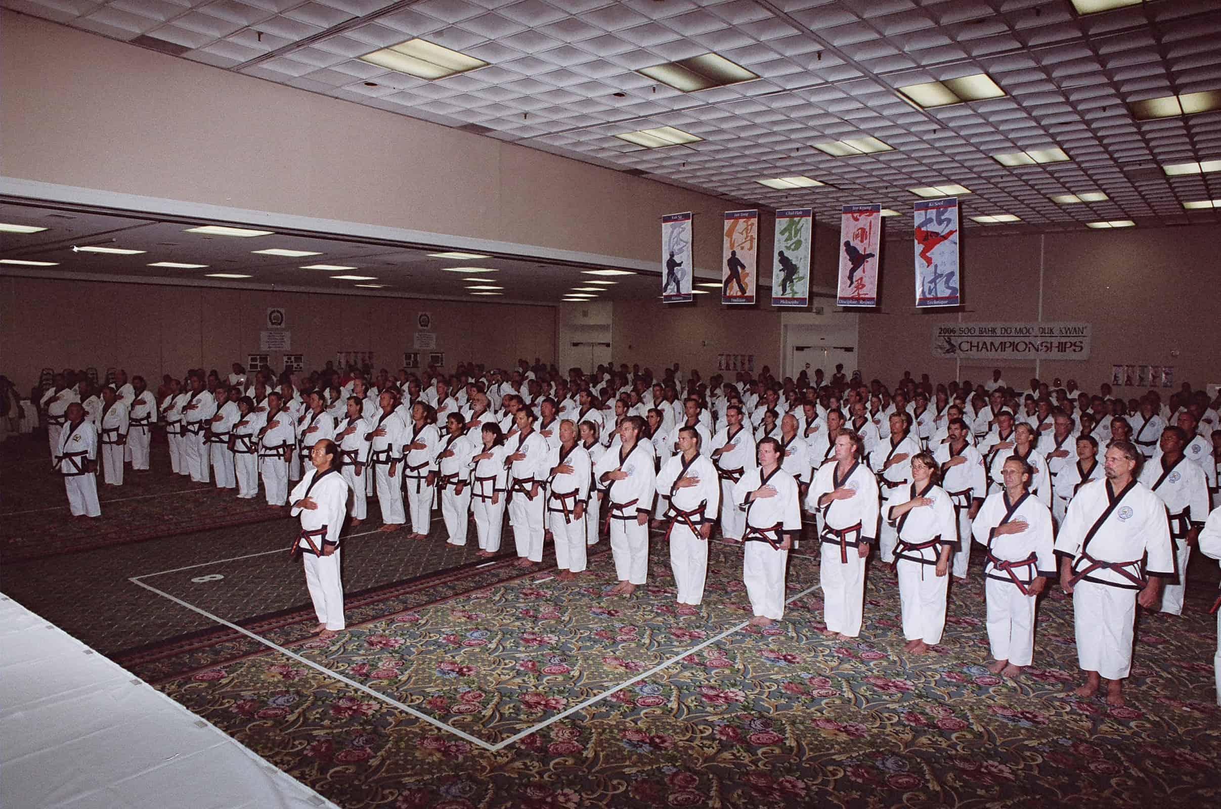 Opening Ceremony For Gup, Dan and Ko Dan Ja Seminars