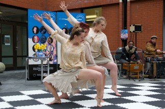 Dancers from The Wilkes Academy