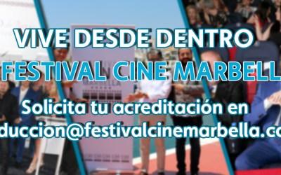 Vive el Festival de Cine de Marbella desde dentro.