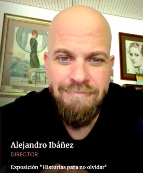 Alejandro Ibanez Estará En La Inaguración, Nos Saluda E Invita.