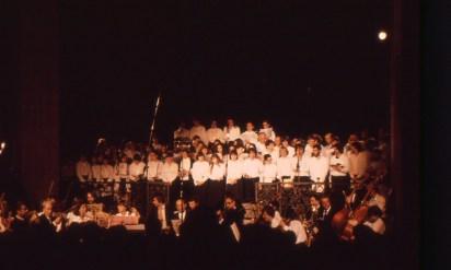 1981 à l'abbaye de Celles-sur-Belle : l'Orchestre Poitou-Charentes pour le Requiem de Mozart