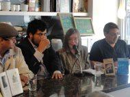 Inés Muñoz Aguirre presentado el libro de Cedhot Arias