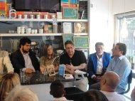 Miguel Marcotrigiano presentado el libro de Luis Perozo Cervantes