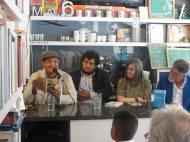 'Mujer acostada se espide' primer poemario de Cedhot Arias