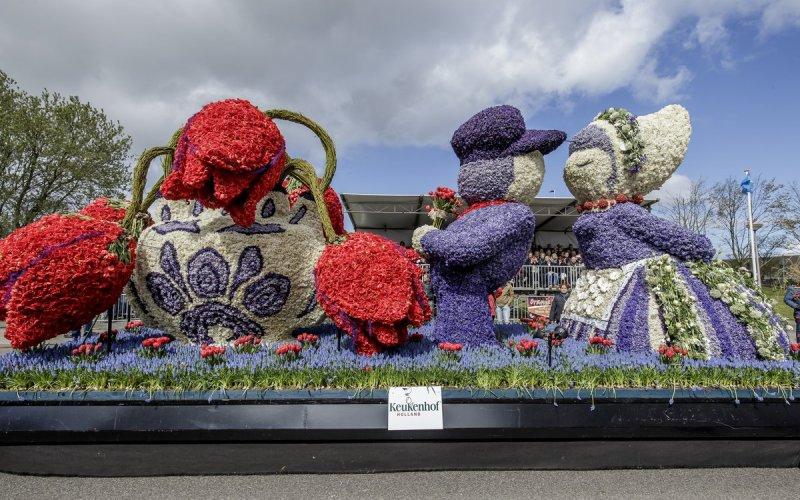 Parade de fleurs Hollande