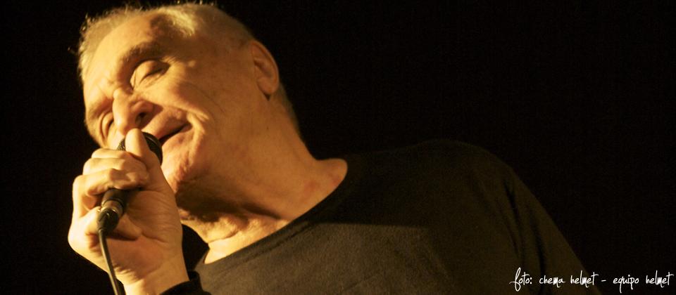 John Giorno y Javier Colis en concierto