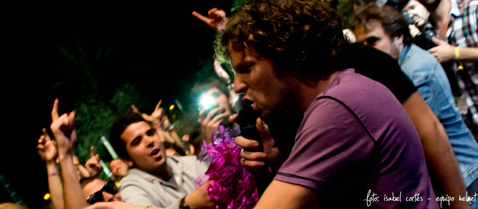 !!! en concierto en el SOS 4.8 // Foto: Isabel Cortés