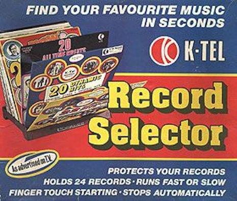 K-Tel record selecto
