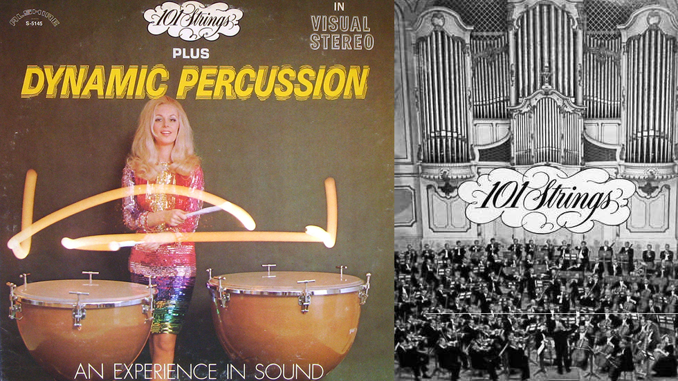 La 101 Strings Orquesta es una prolífica organización musical que editó centenares de álbumes entre 1957 y 1981