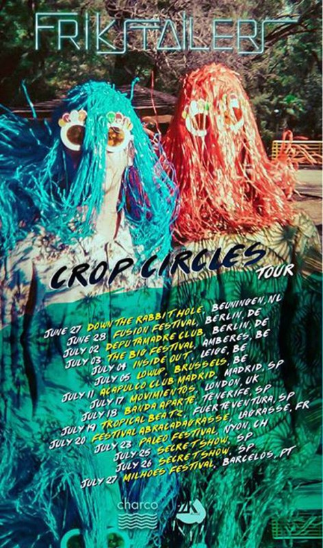 Frikstailers tour 2014