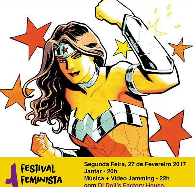 """Festa de Carnaval """"2017: Odisseia Galática Feminista"""""""