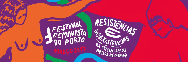 Cartaz do II Festival Feminista do Porto (2017)
