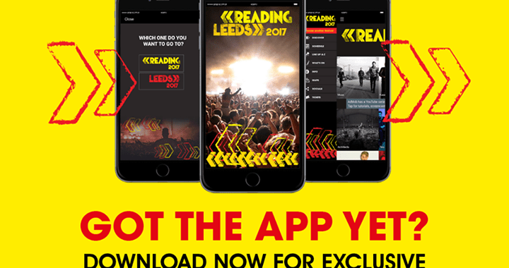 The Reading app is here! Download it and star your favourite artists to get acce…