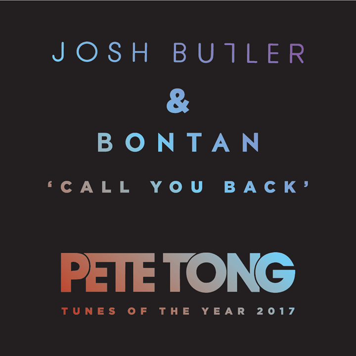 Congrats to Festival acts Josh Butler and Bontan for making Pete Tong's 'Tunes ...