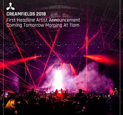 Set your alarms ⏰! We're announcing our very first Creamfields 2018 headline art...