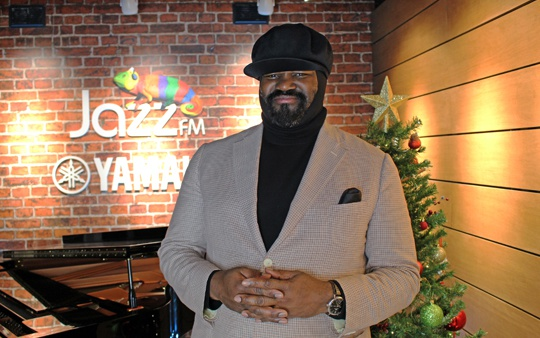 Gregory Porter headlines Christmas on Jazz FM