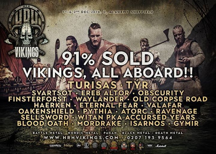 HRH VIKINGS ADDS A NORSE GOD AND MORE HEROES TO ITS MIGHTY METAL ADVENTURE......