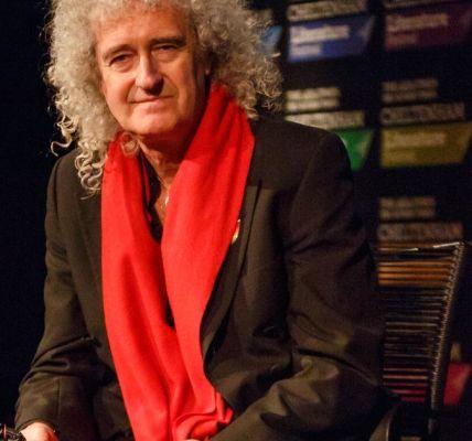 Brian May tells literature festival about Freddie Mercury
