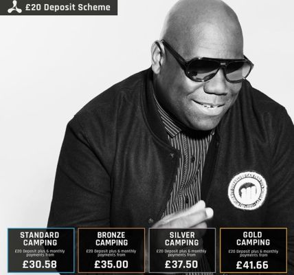 Next year see's the return of the mighty Carl Cox at  #Creamfields2018 with camp...