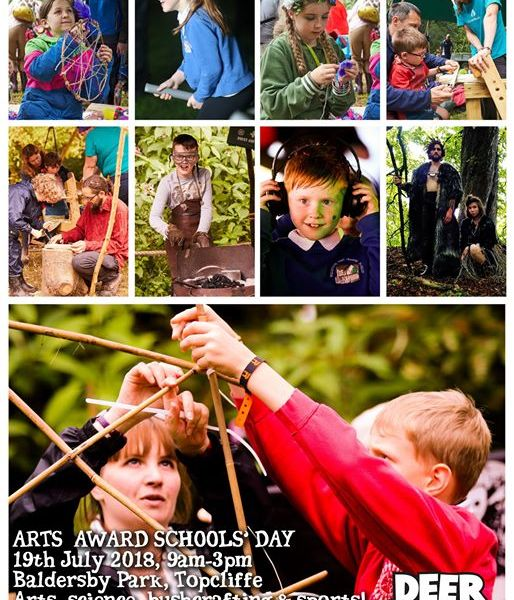 Calling all teachers: applications for the  #DeerShed9 Arts Award Schools' Day -...