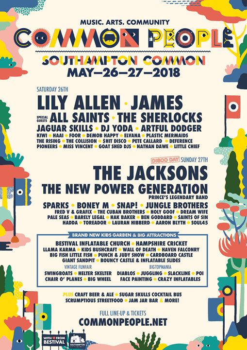 Announcing our line-up! ...