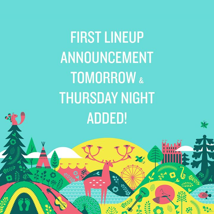 Hold tight...first lineup reveal is just 24 HOURS AWAY! Ahead of tomorrows lineu...