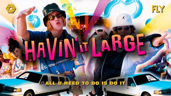 Havin' it LARGE - Edinburgh - AUN x FLY