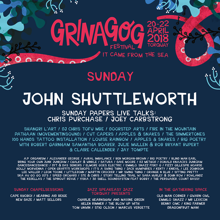 ️ Announcement! Unmissable line up on Sunday 21 April - World Earth Day  ️ Share...