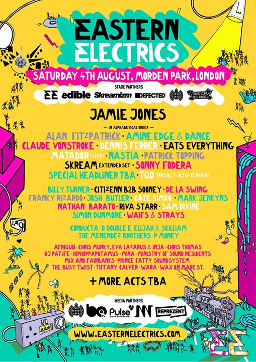 That Saturday line-up is looking tasty... ...