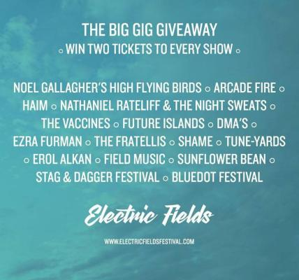 Last call to enter our mega gig tickets competition! Remember, you need to be a...