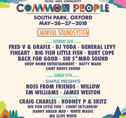 Our new Carnival Soundsystem will jump all weekend on South Park! Common People ...