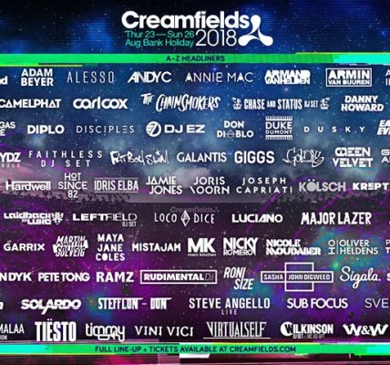 #Creamfields2018  If you're looking for Gold Days you need to be quick. We're e...